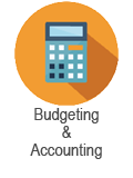 Budgeting course blue