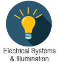 Electrical Systems course blue