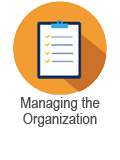 Managing the Org course blue