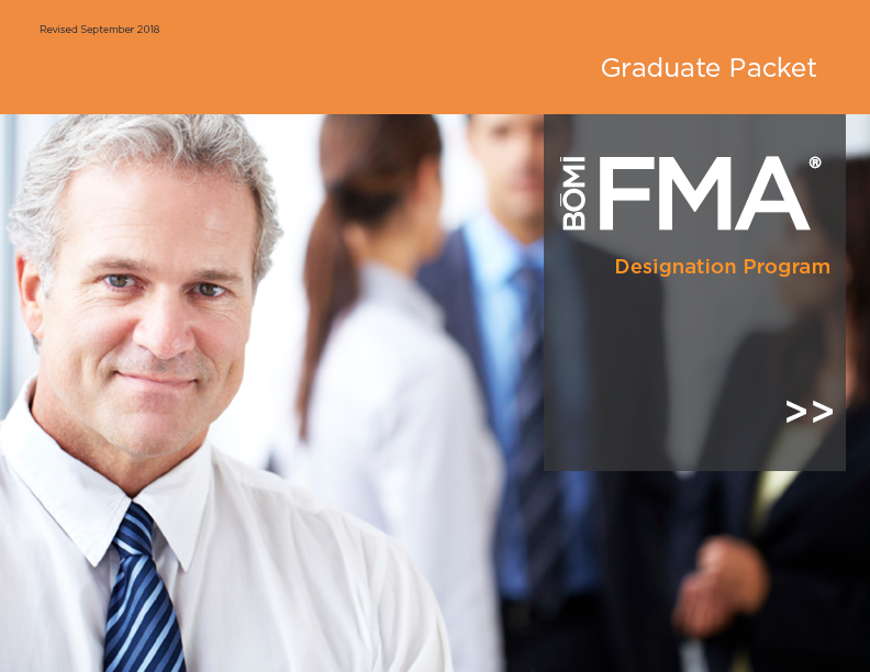 FMA Graduate packet cover