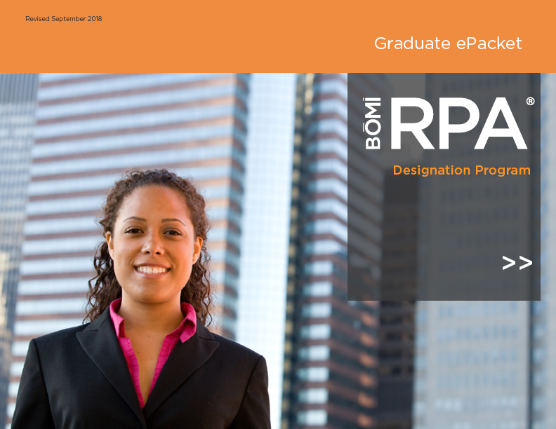 RPA Graduate Packet cover