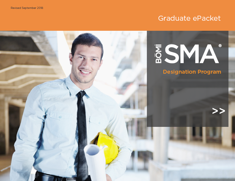 SMA graduate packet cover